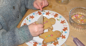 Allergy-friendly Christmas Gingerbread Men