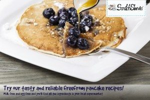 Eczema friendly-cooking: Dairy-free, Egg-free Pancakes