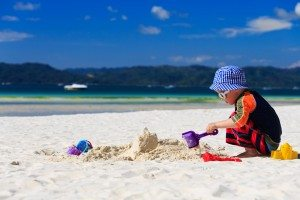 Sun, Sea, Sand and…Eczema? Top Tips for Taking an Eczema Child to the Beach