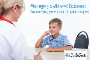 Managing Childhood Eczema: Encouraging your child to take control