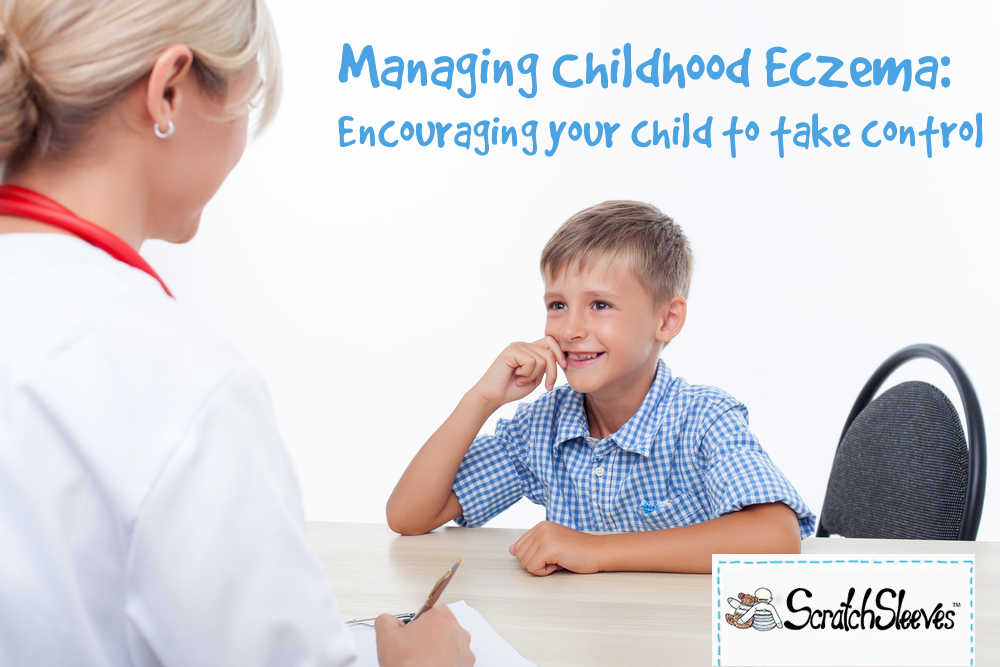Managing Childhood Eczema Encouraging Your Child To Take Control