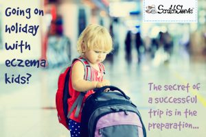 Holiday eczema top tips from the ScratchSleves blog. We share advice and information which has helped us to prepare to deal with our children's eczema while on holiday.