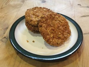 Grandma's Oat and Golden Syrup Cookie Recipe - Egg and Dairy Free