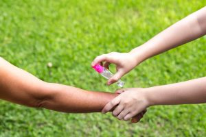 Choosing an insect repellent for eczema children - top tips from the ScratchSleeves blog