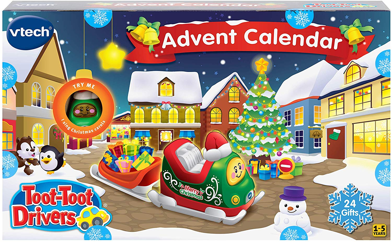 If you can stand the noise this Toot-toot calendar will keep you toddler happy for hours!https://amzn.to/2zgI4cS