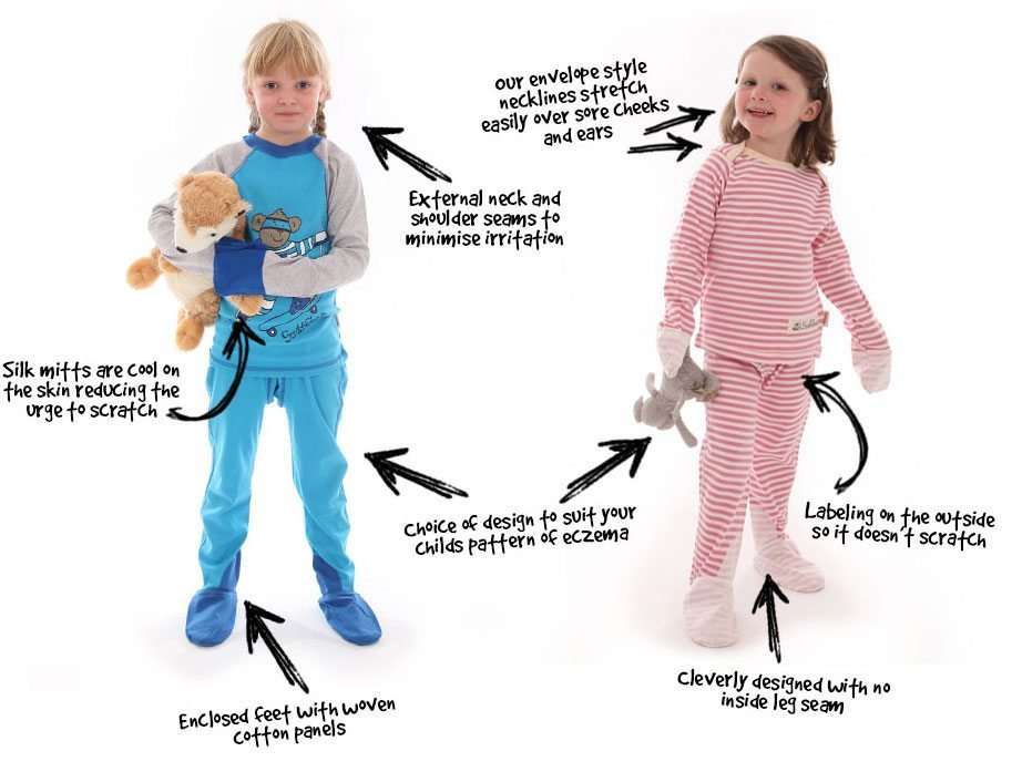 PJs designed for your child's eczema
