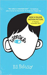 Eczema book reviews (wildcard): Wonder by RJ Palcio