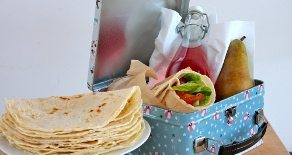Allergy friendly baking with kids: Gluten free soft tortilla wraps