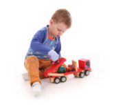 Best toys for children wearing scratch mitts