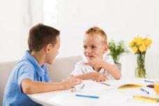 Explaining childhood eczema to peers