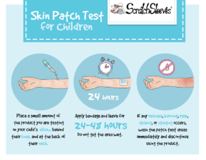How to Patch Test Toiletries and Creams on Children with Eczema