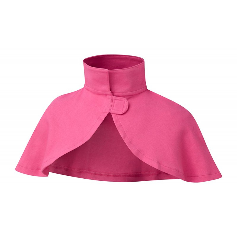 ScratchSleeves - Happy Pink SuperHero cape - front view
