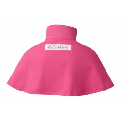 ScratchSleeves - Happy Pink SuperHero cape - back view